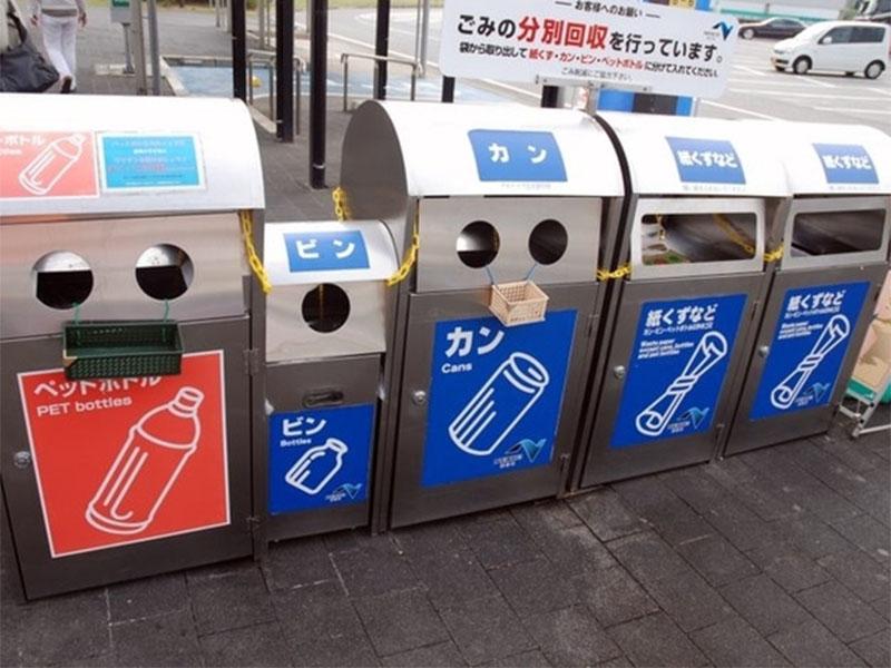 Как в Японии перерабатывают отходы?