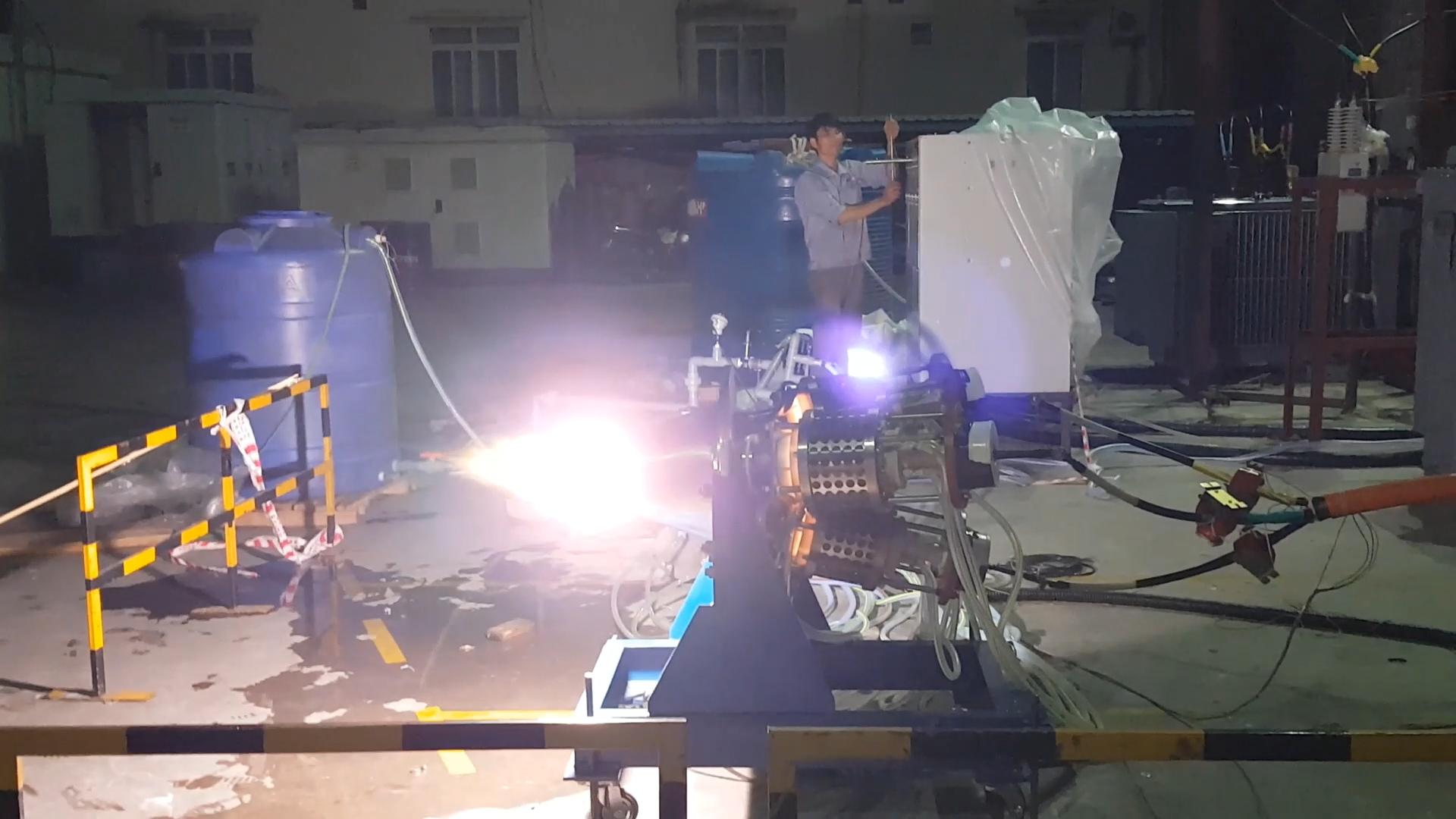 Система плазменного генератора большой мощности продолжает испытания и достигла хороших результатов