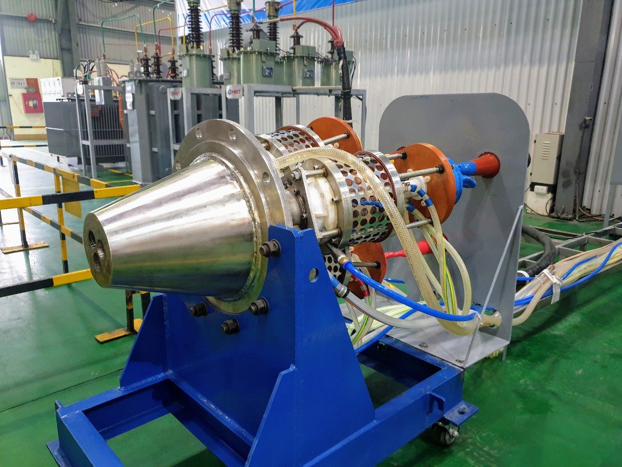 VinIT Institute of Technology continues to test high-capacity Thermal Plasma generator